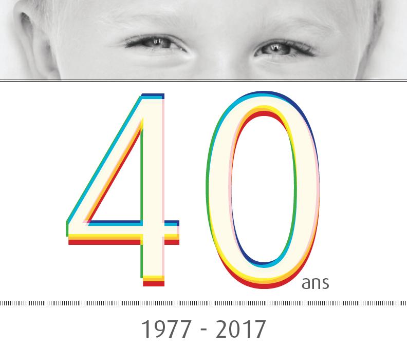 Visuel <h2>Enfance &#038; Partage a 40 ans !