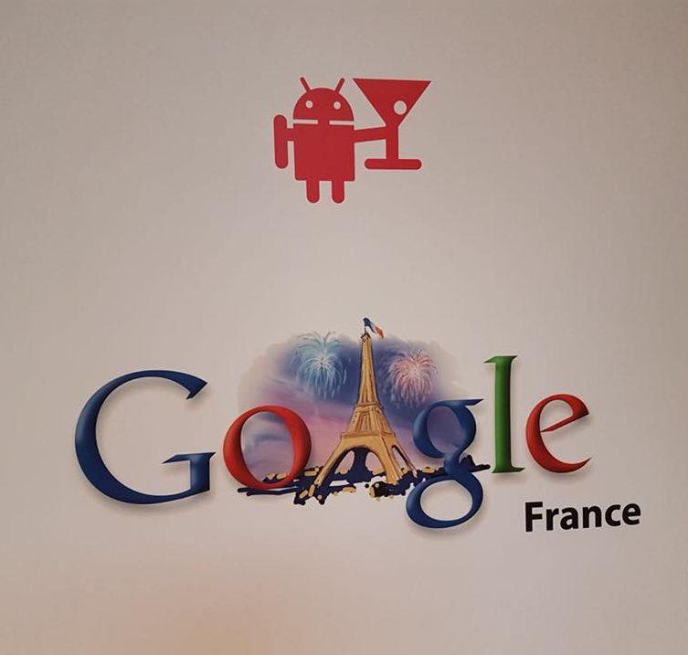 Visuel Opération de sensibilisation chez «<h2>Google»