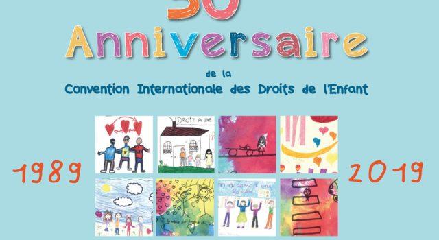 Visuel Recueil de dessins d'enfants pour les 30 ans de l'anniversaire de la Convention Internationale des Droits de l'Enfant