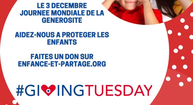 Visuel #GIVING TUESDAY! le 3 décembre soyons généreux !