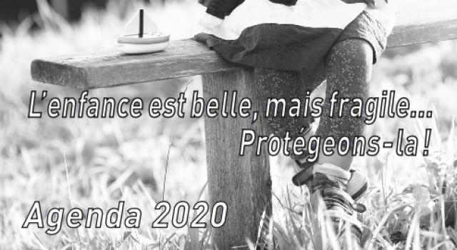 Visuel Commandez notre agenda 2020 dès maintenant !