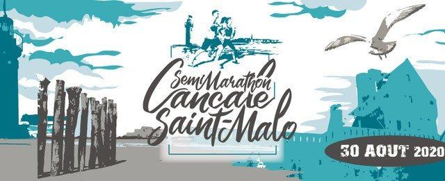 Visuel Semi-marathon Cancale Saint-Malo: sportifs et solidaires!