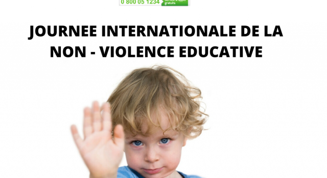 Visuel 30 AVRIL : JOURNÉE DE LA NON – VIOLENCE EDUCATIVE